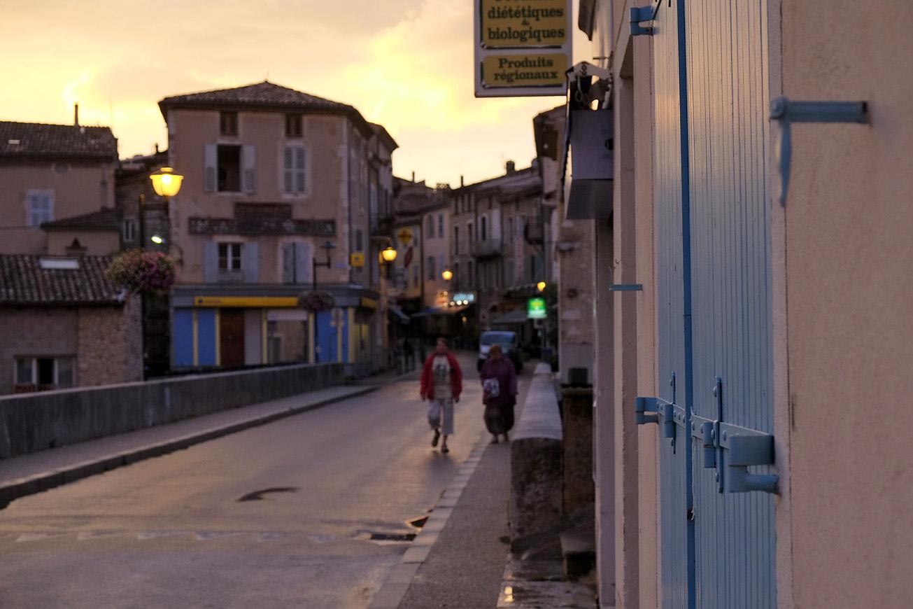Drôme nach dem Regen