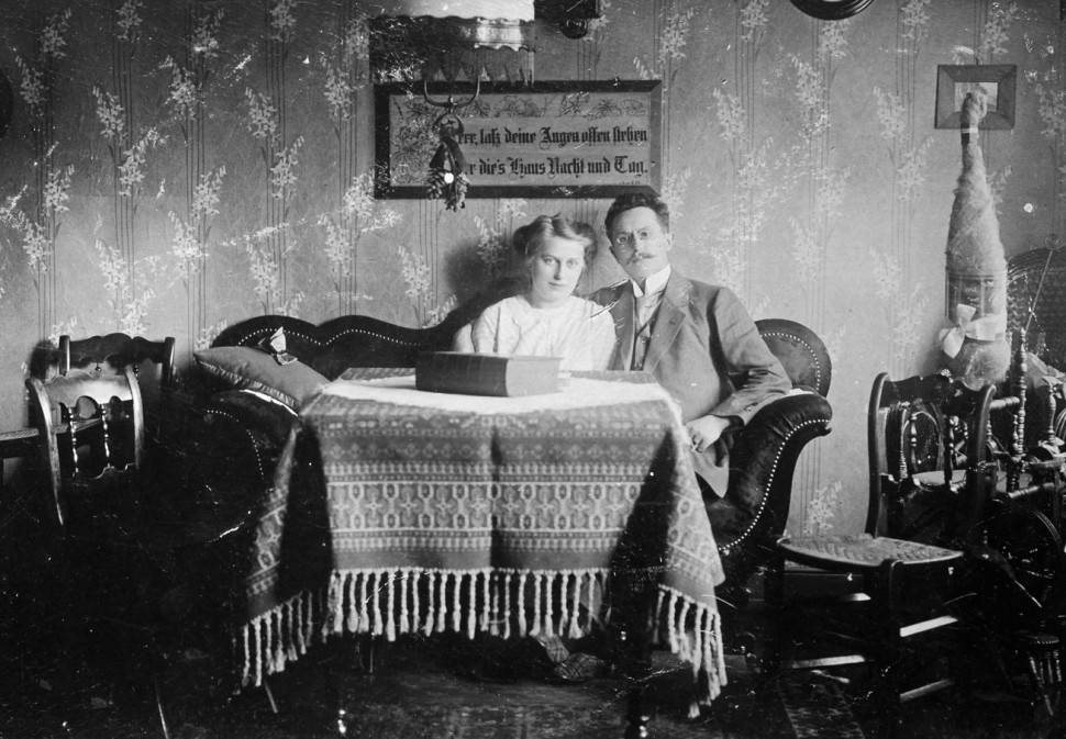 Karl Küker mit seiner Frau Anna.